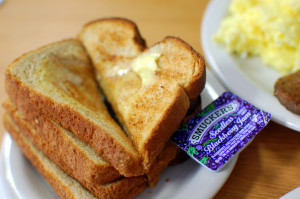 Butter jelly toast Steve Snodgrass